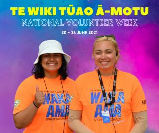 Te Wiki Tūao ā-Motu - National Volunteer Week!