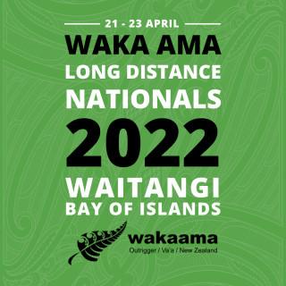 2022 Waka Ama Long Distance Nationals - Waitangi