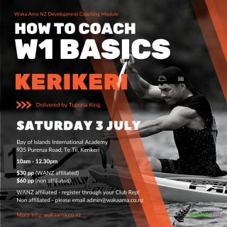 Enter now! Development Coaching - How to Coach W1 Basics (Kerikeri)